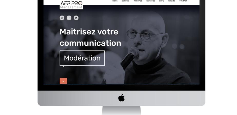 Le nouveau site d'AFP Pro Management est en ligne